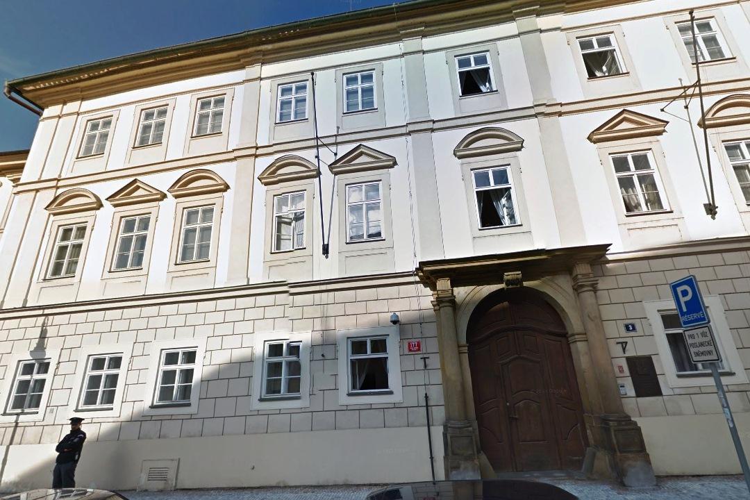 Sněmovní ulice - sídlo ODS do roku 2003