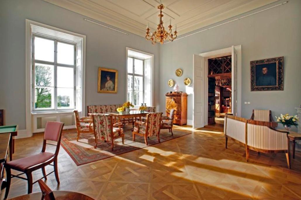 Interiér Nového zámku