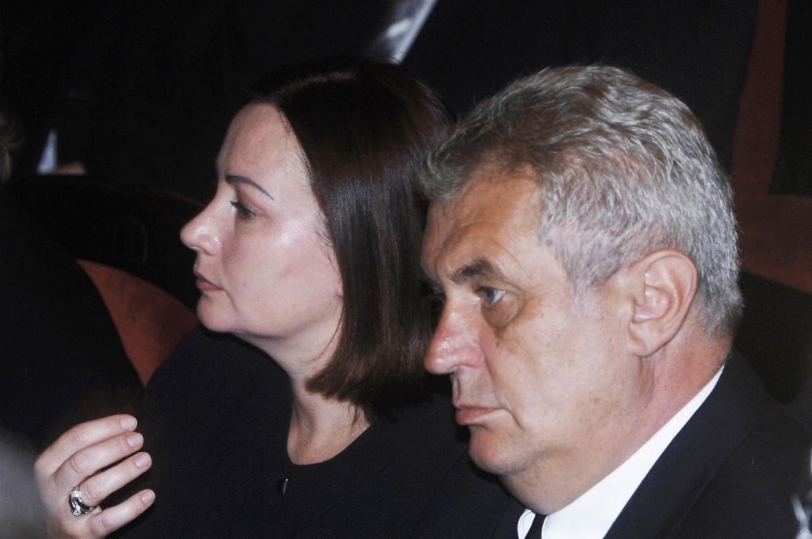 Manželé Zemanovi v roce 2005
