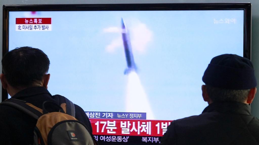 Odpálení severokorejské rakety