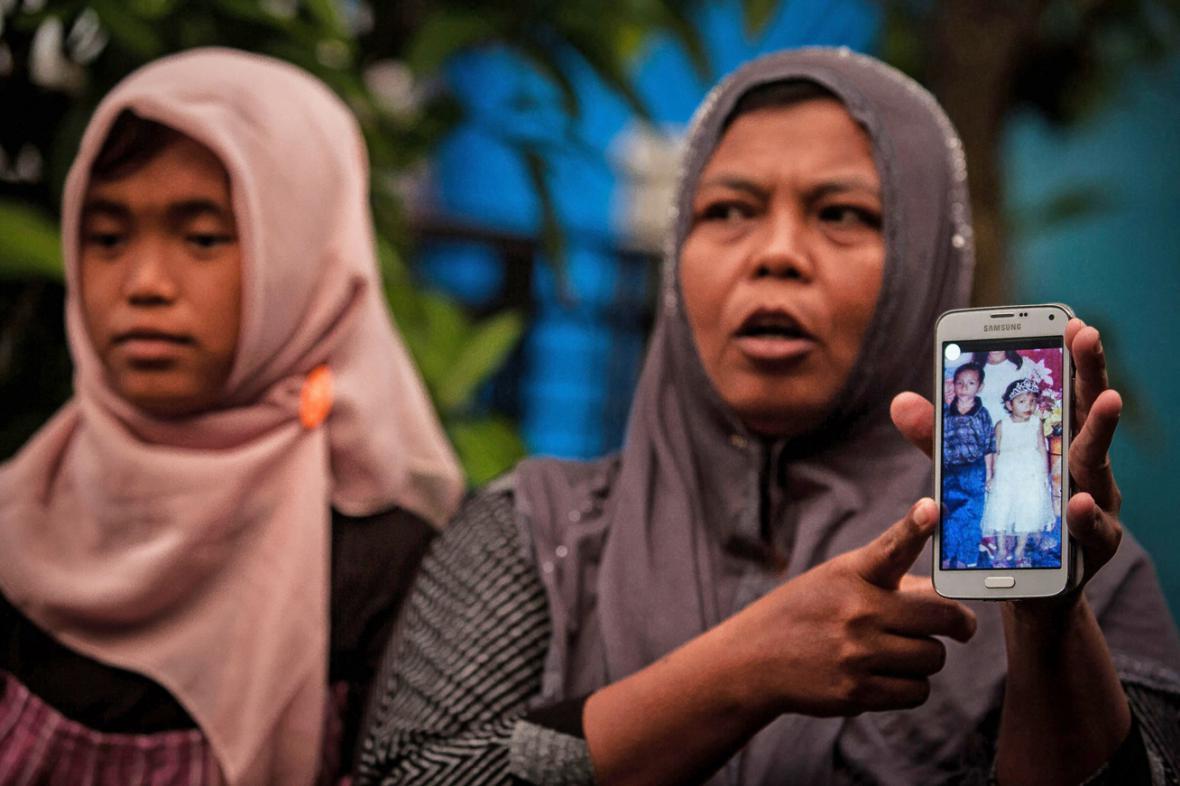 Jamaliah a její dcera Jannah