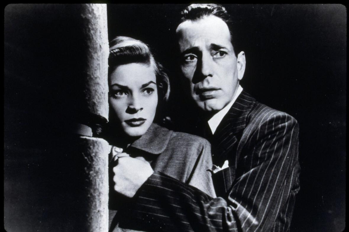 Lauren Bacallová a Humphrey Bogart (1947)