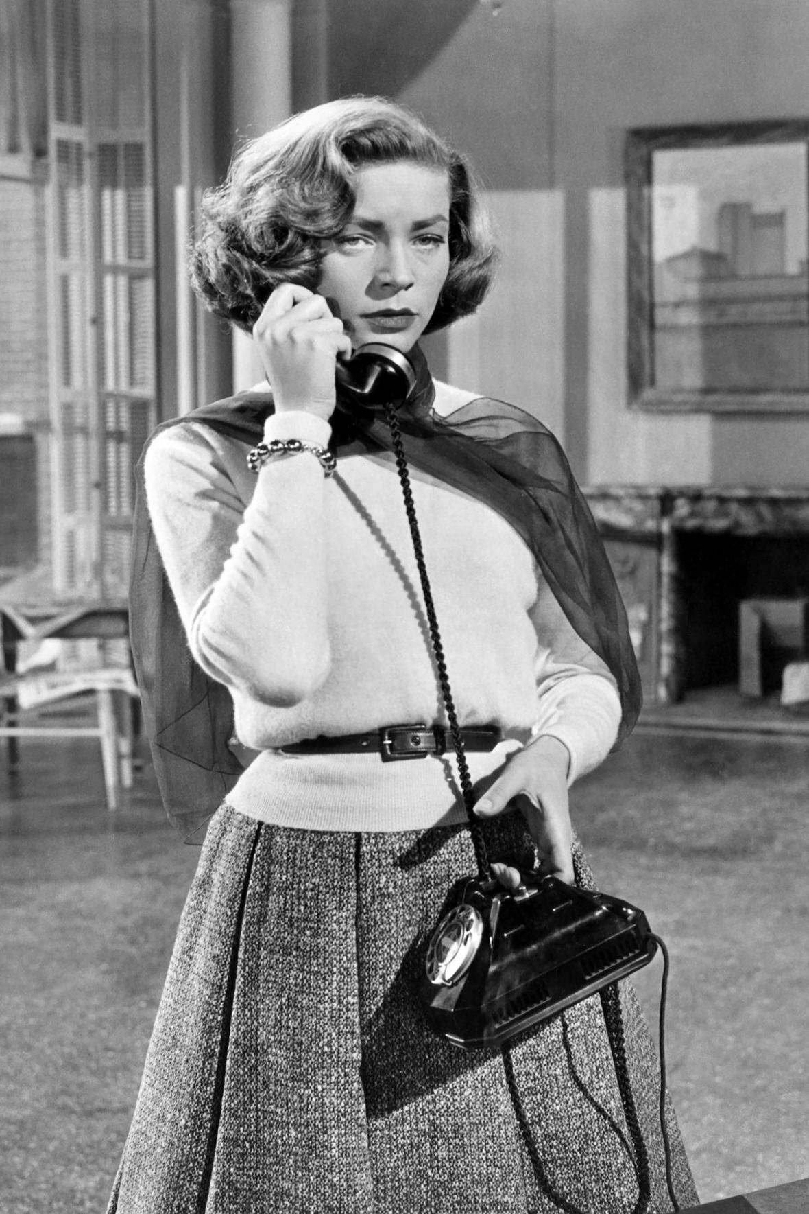 Lauren Bacallová ve snímku Jak si vzít milionáře (1953)