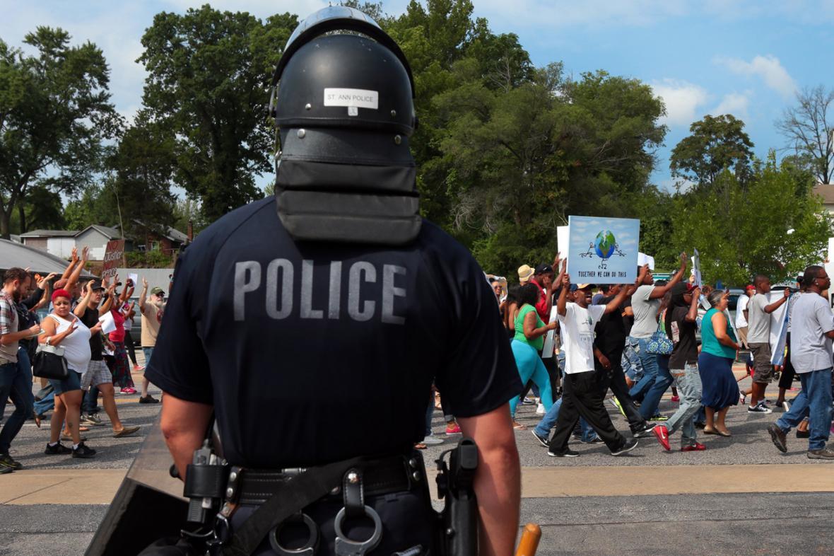 Protesty v St. Louis