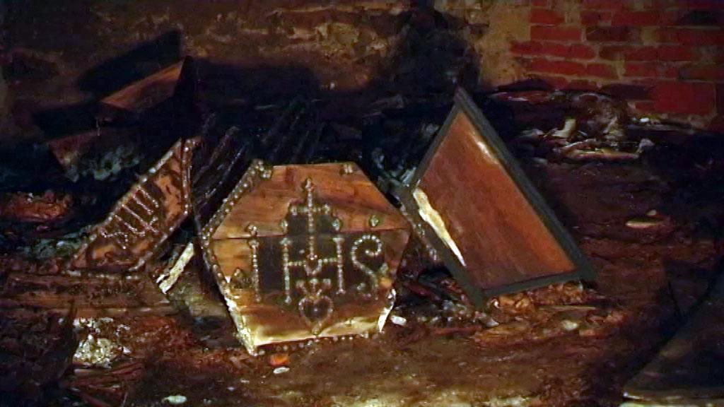 Badatelé odkrývají hrobku Přemyslovců v Opavě.