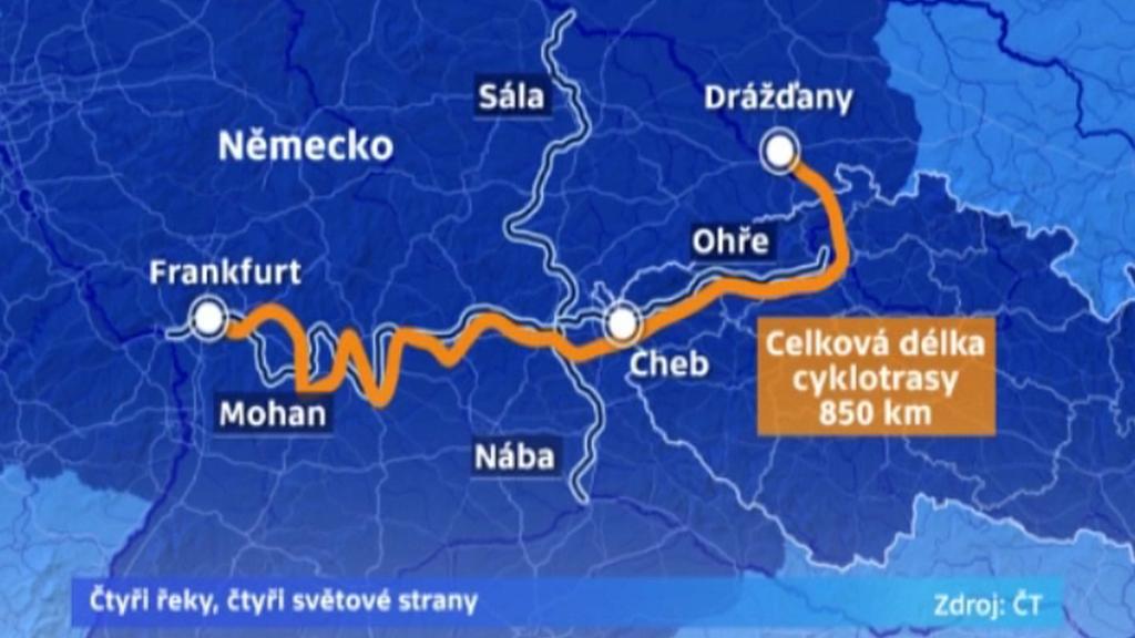 Plán nové sítě cyklostezek