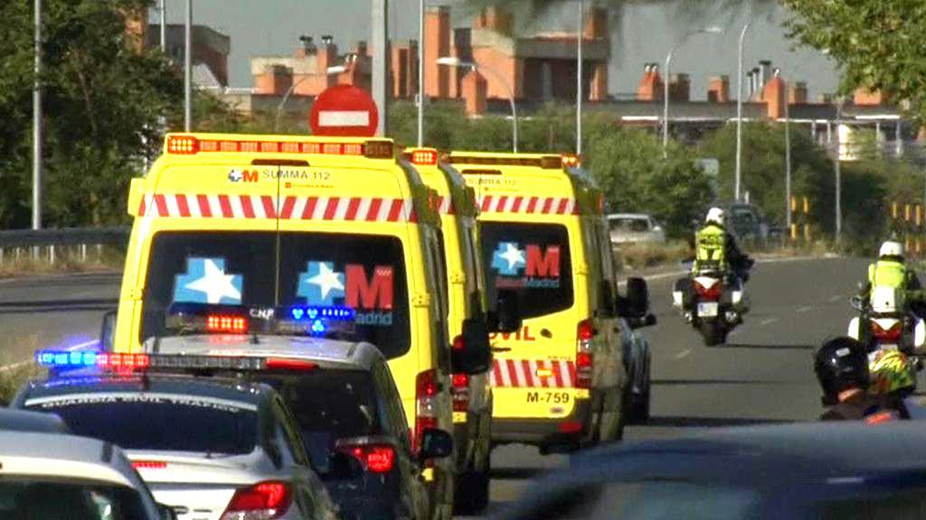 Převoz Miguela Pajarese do nemocnice ve Španělsku