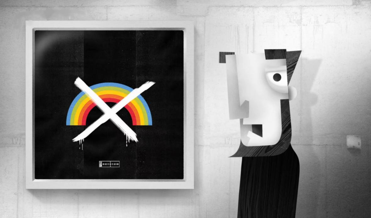 Padouch Černobíl se snaží zbavit Déčko barev