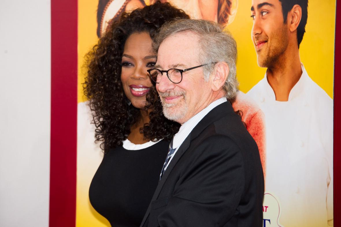 Oprah Winfreyová a Steven Spielberg