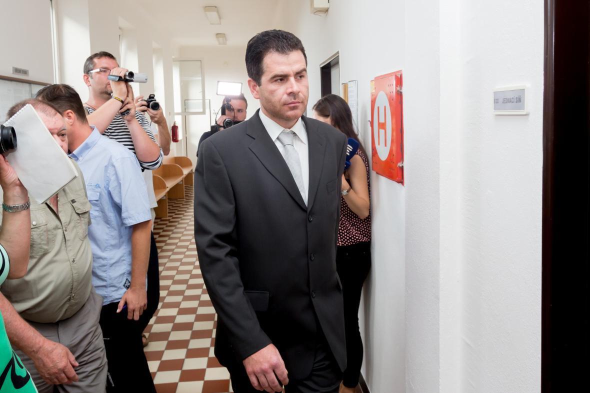 Obžalovaný Jaromír Pánek