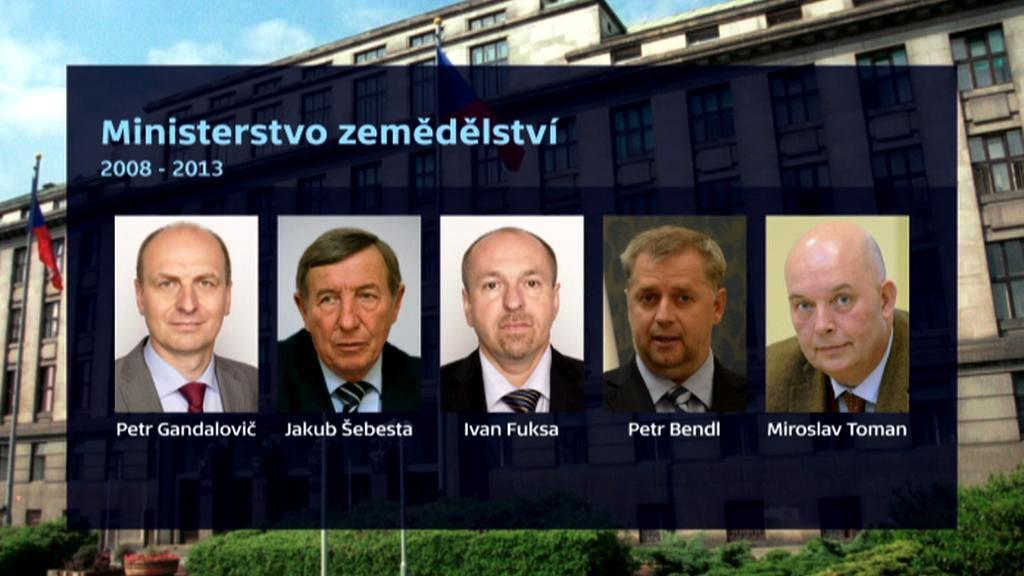 Ministři zemědělství 2008–2013