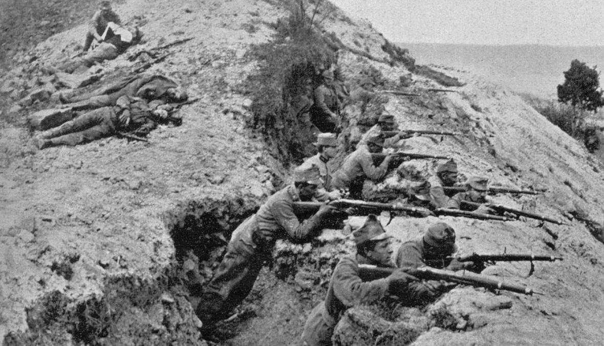 Čs. legionáři na italské frontě