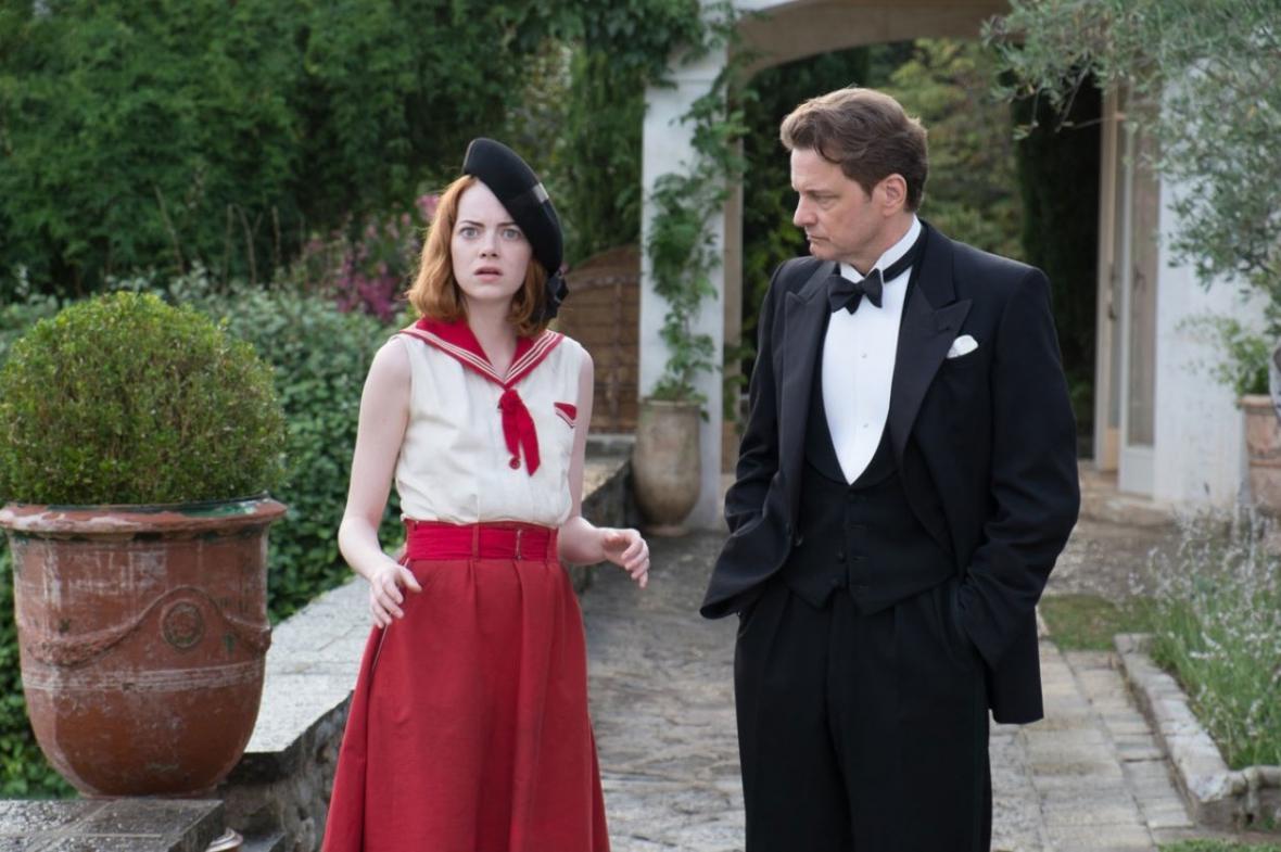 Emma Stone a Colin Firth