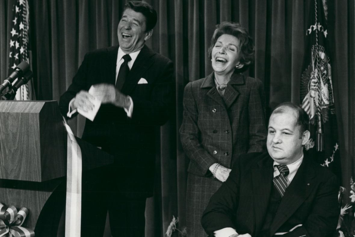 James Brady s americkým prezidentem