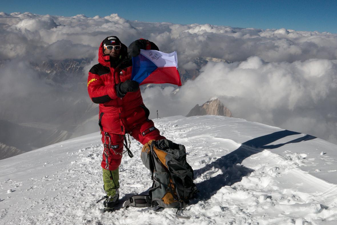 Vrchol K2 - Radek Jaroš