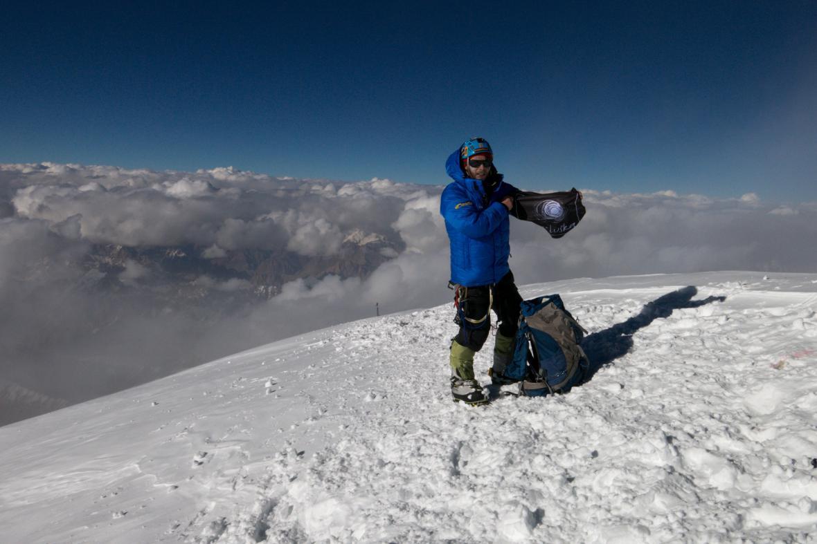 Vrchol K2 - Honza Trávníček