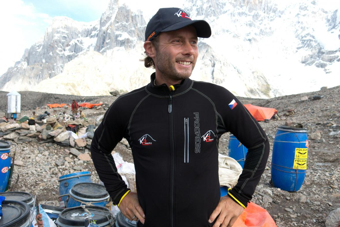 Expedice K2 - Honza Trávníček