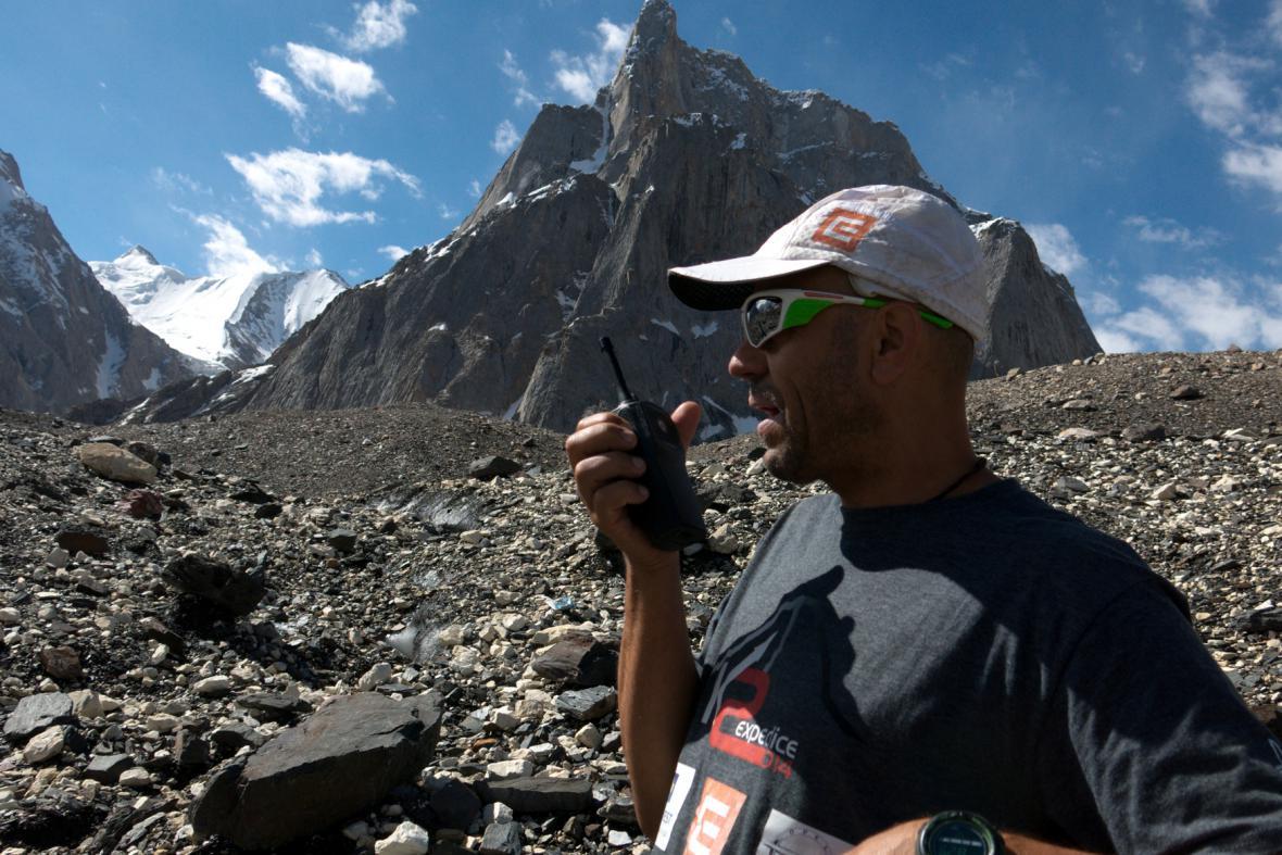 Expedice K2 - Náčelník Radek Jaroš