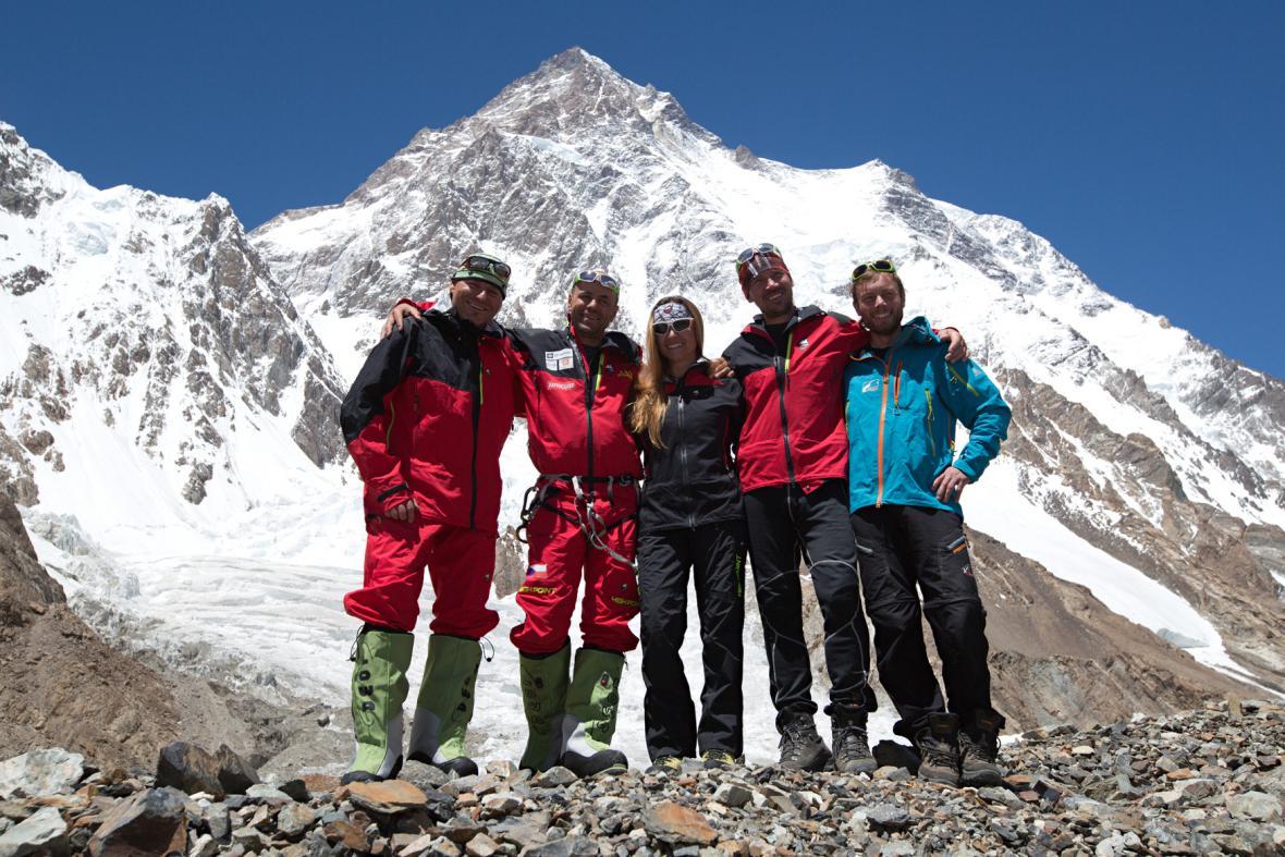 Účastníci Expedice K2