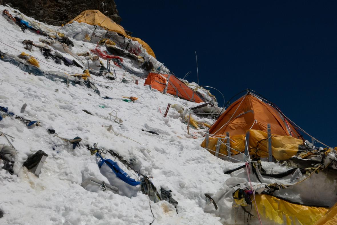 Expedice K2 - tábor C2