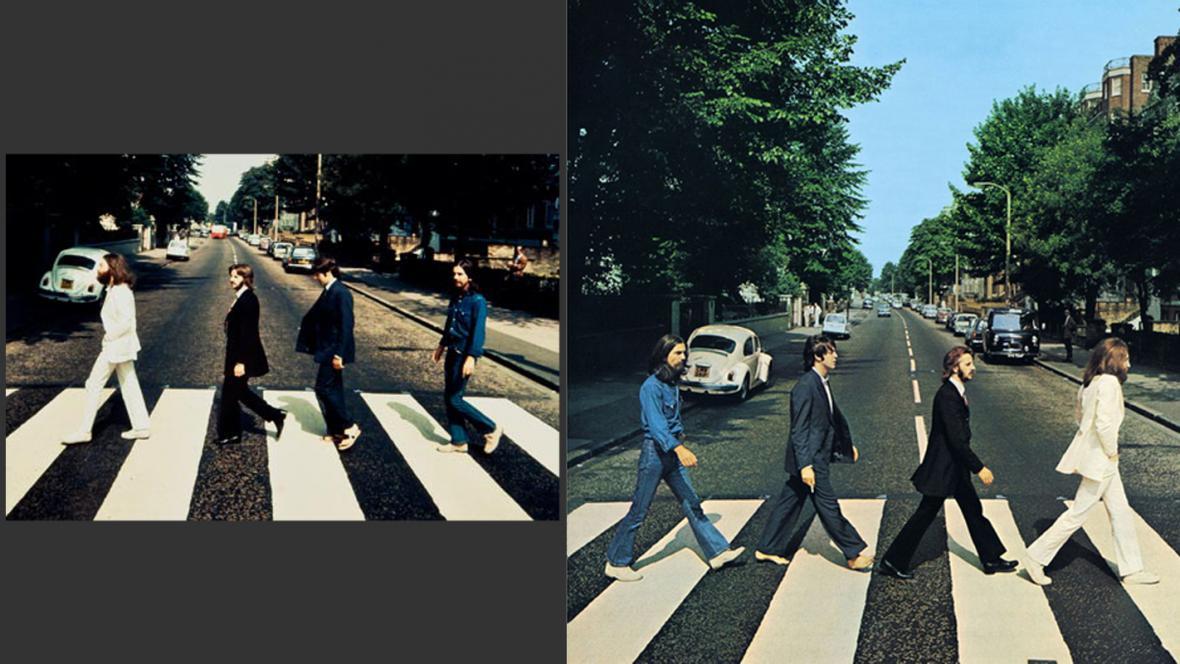 Dražený snímek Beatles - a jeho známá verze