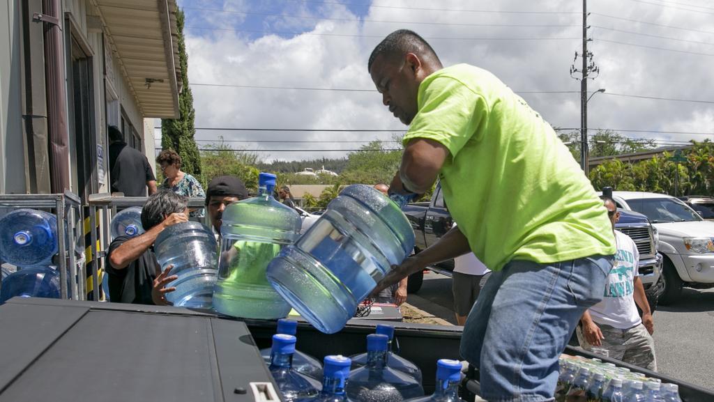 Barely s vodou - aktuálně klíčová komodita pro tisíce Havajců