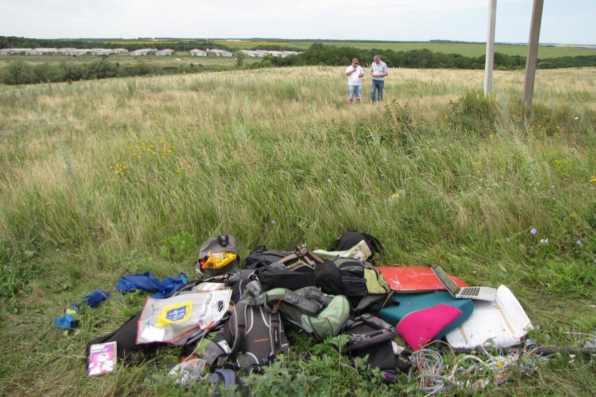 Katastrofa MH17: To, co zbylo po mrtvých
