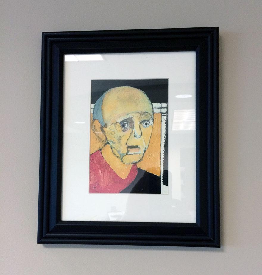 William Utermohlen / Autoportrét (1997)