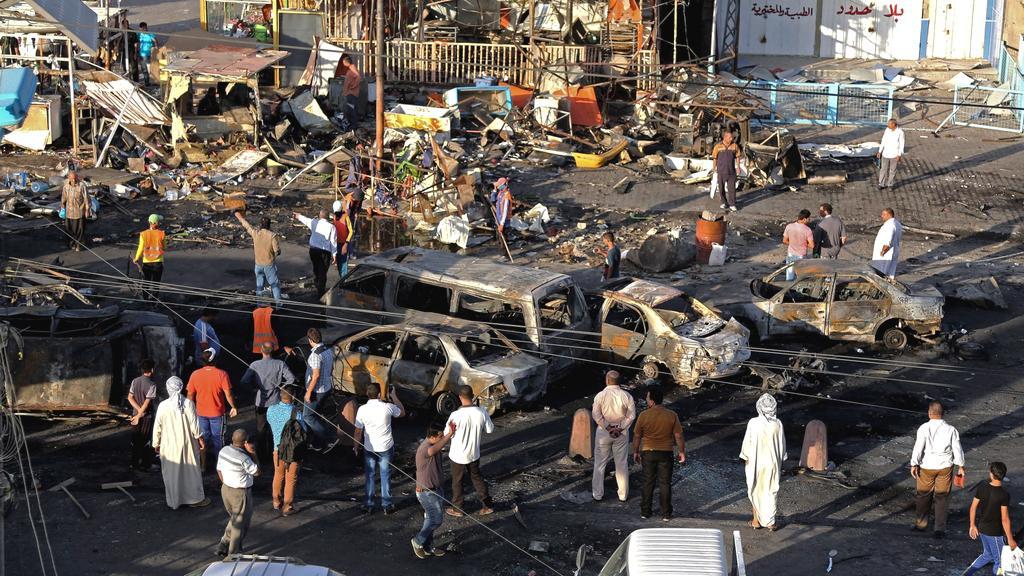 Předměstí Bagdádu navíc dál decimují série bombových útoků