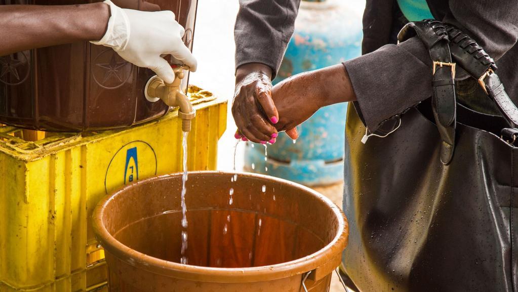 Hygiena je nyní pro další výskyt eboly klíčová