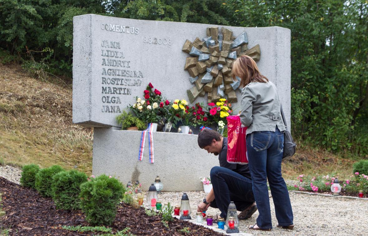 Vzpomínkové setkání k železničnímu neštěstí ve Studénce