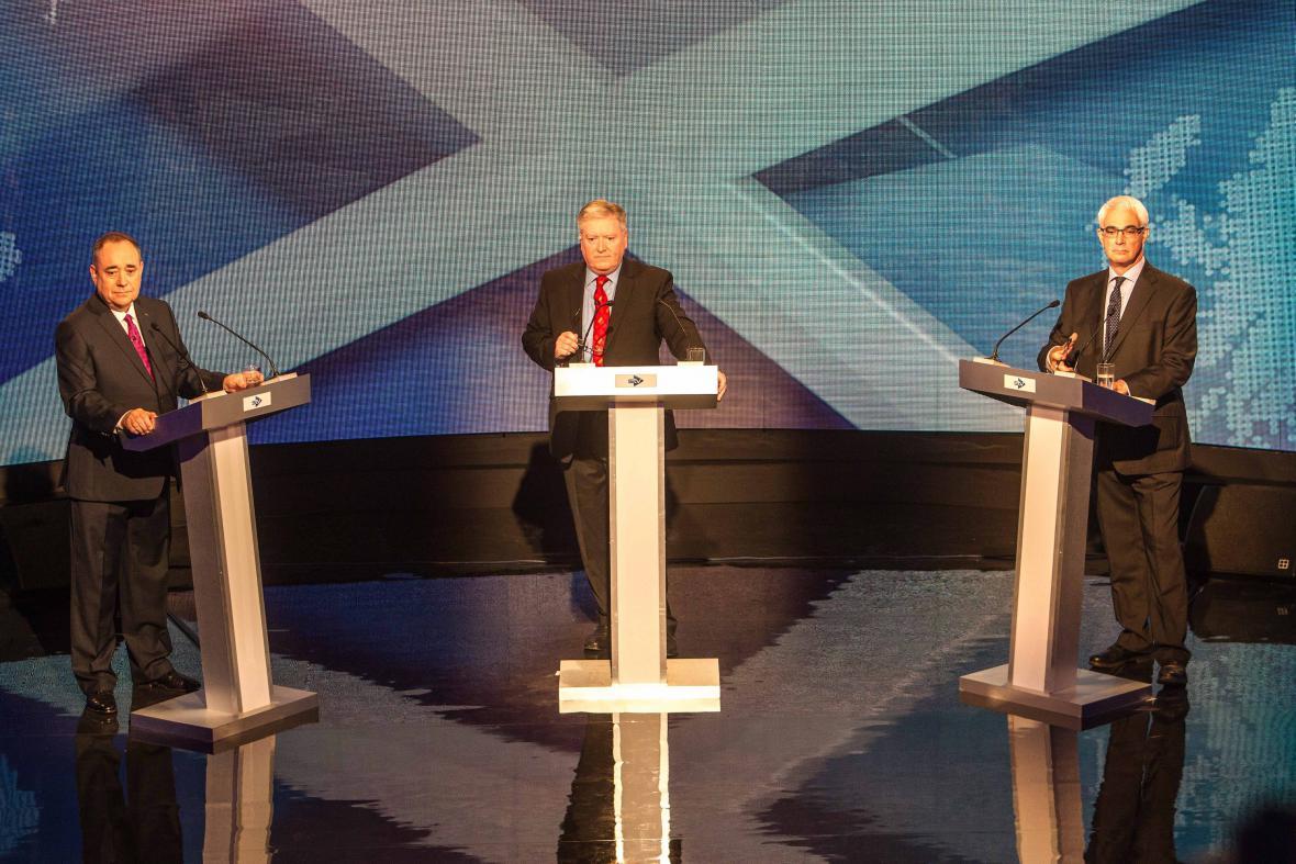Televizní debata věnovaná skotskému referendu