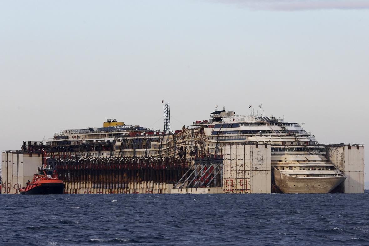 Costa Concordia v Janově