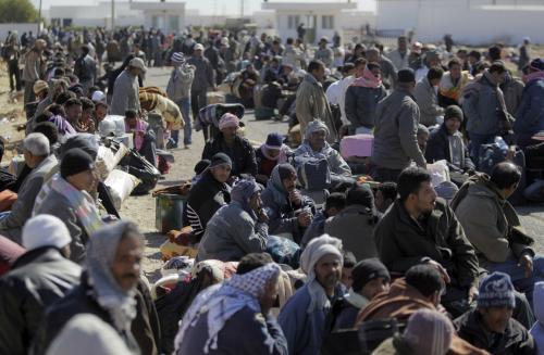 Uprchlíci z Libye