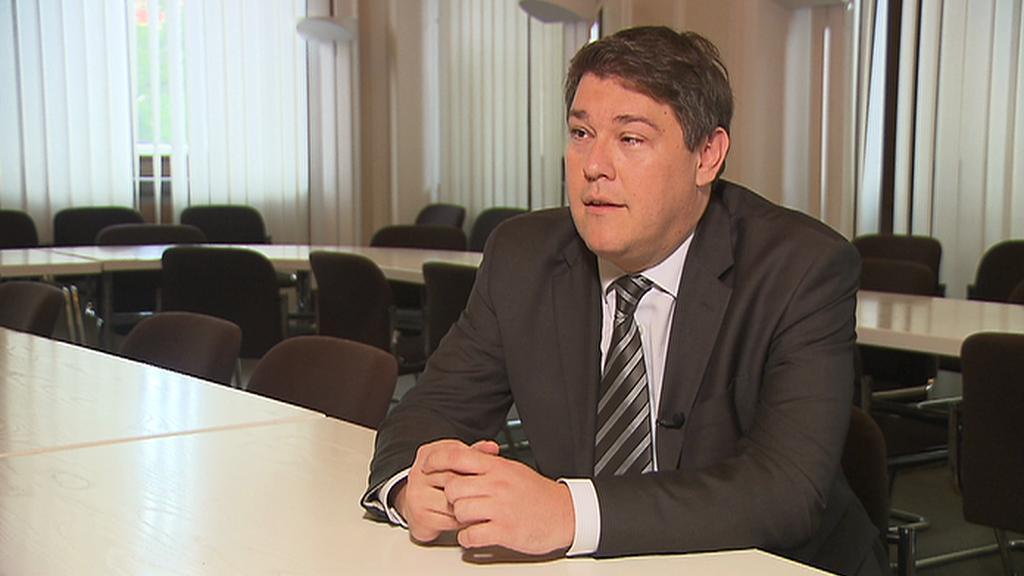 Ministr financí Chorvatska Boris Lalovac