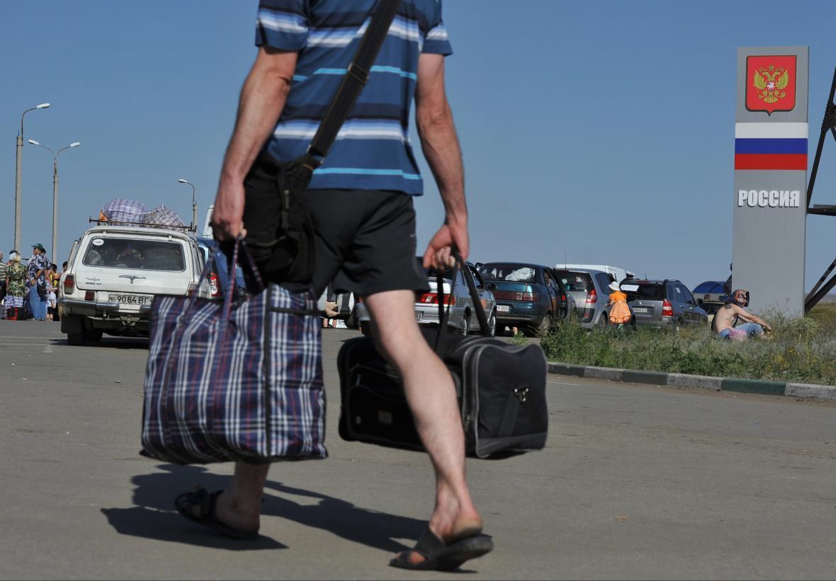 Uprchlíci z Doněcka