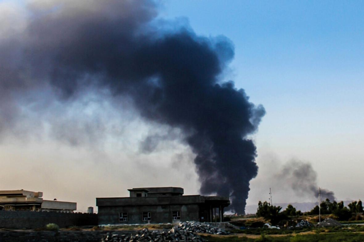 Boje s islamisty v Iráku