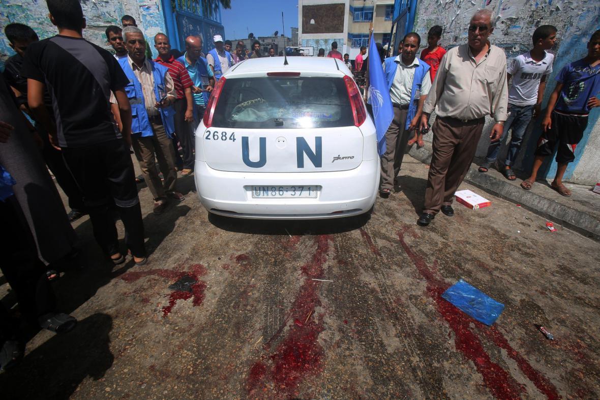 Automobil OSN v Rafahu