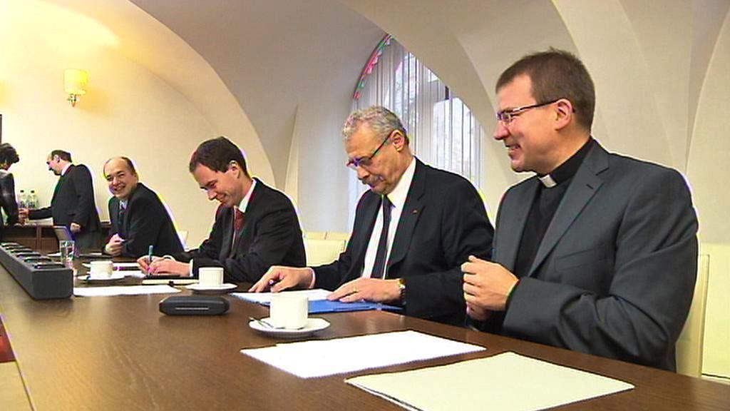 Zástupci církví