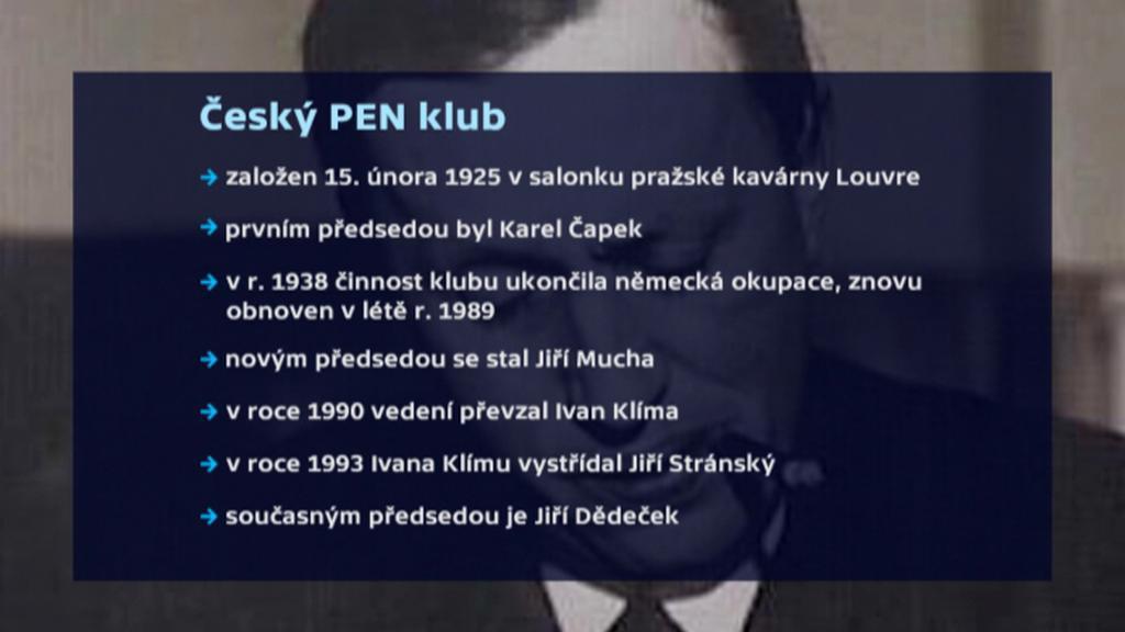 Historie českého PEN klubu