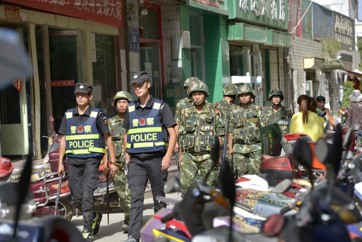 Čínská policie