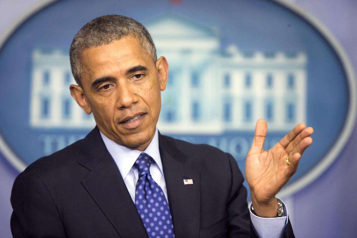 Brífink Baracka Obamy k situaci v Iráku