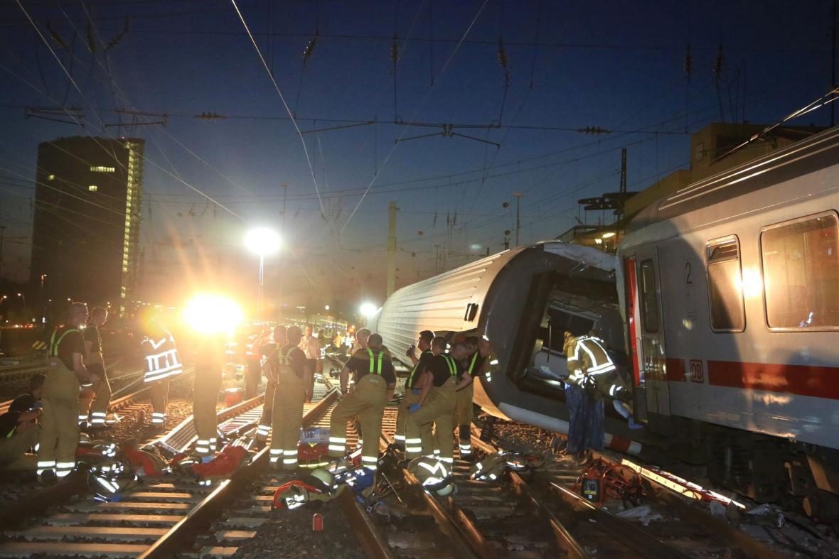 Srážka vlaků v Mannheimu