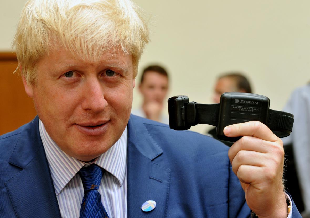 Starosta Londýna Boris Johnson