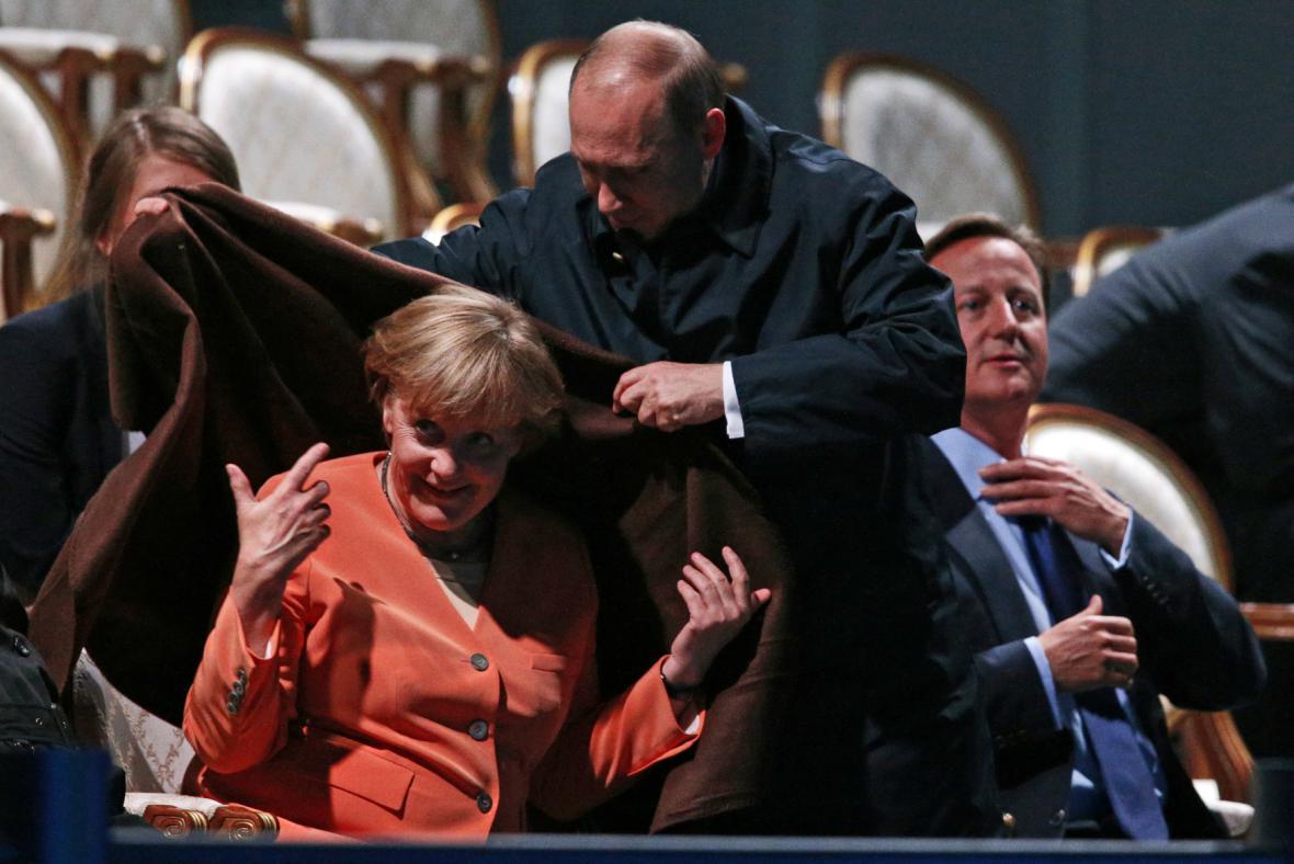 Putin gentleman...