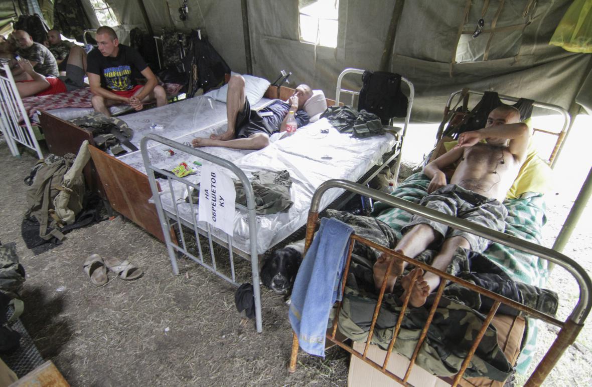 Zranění civilisté na východní Ukrajině