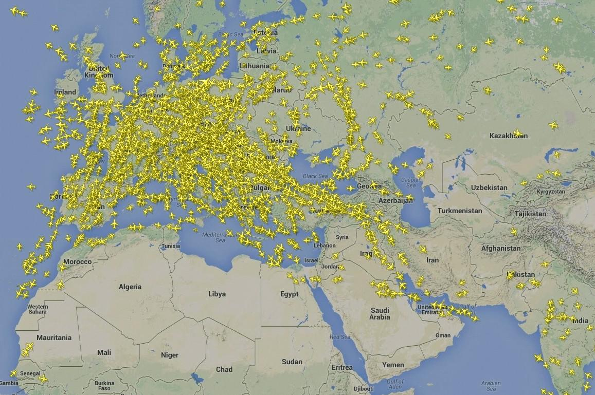 Letecká doprava - 31.7. 2014 ve 14:20 SEČ