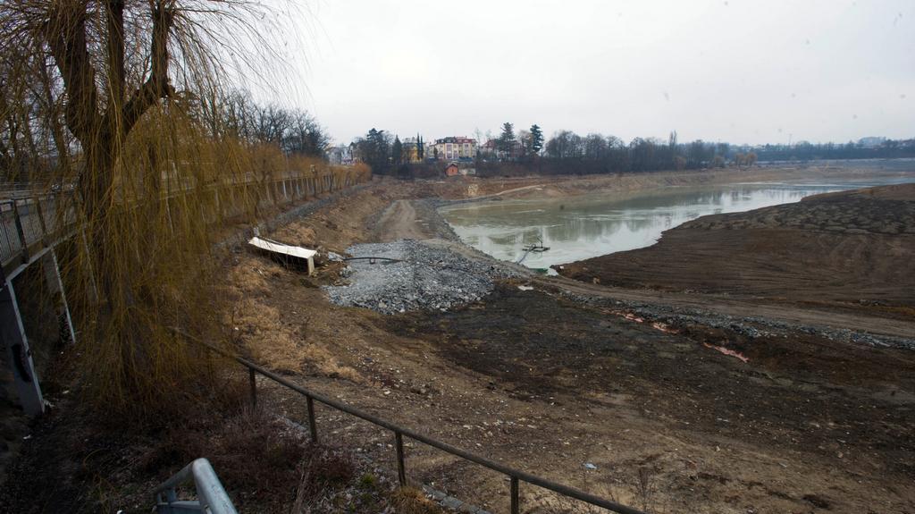 Odbahňování rybníku Jorádn