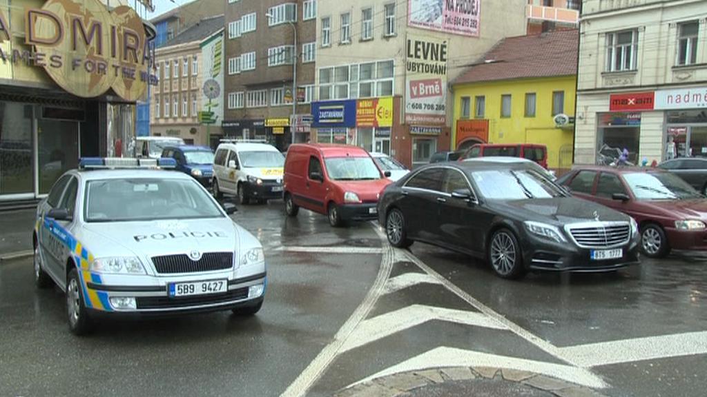 Doprava v centru Brna na několika místech kolabovala