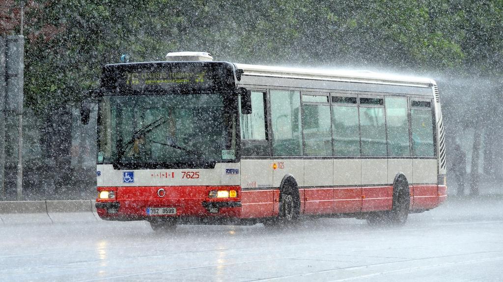 Silné srážky postihly Brno už ve středu